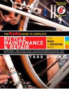 The Bicycling Guide to Complete Bicycle Maintenance Repair.